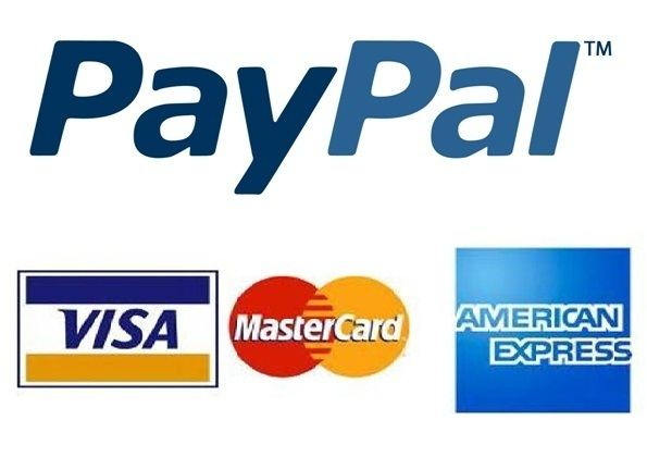 Paypal payment card button