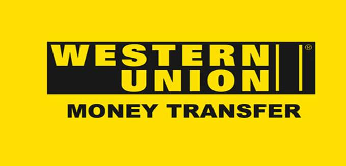 Western Union payment button