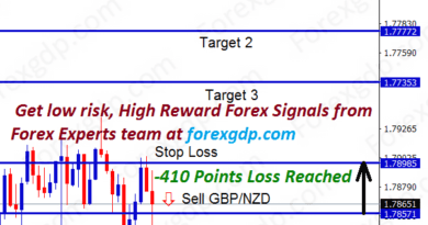 gbpnzd stop loss signal hits
