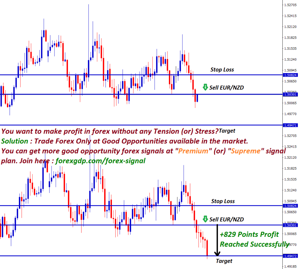 eur nzd forex strategy for selling hits take profit price