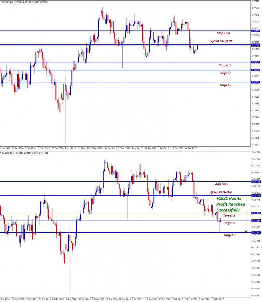 cadchf technical analysis hit 1921 points profit