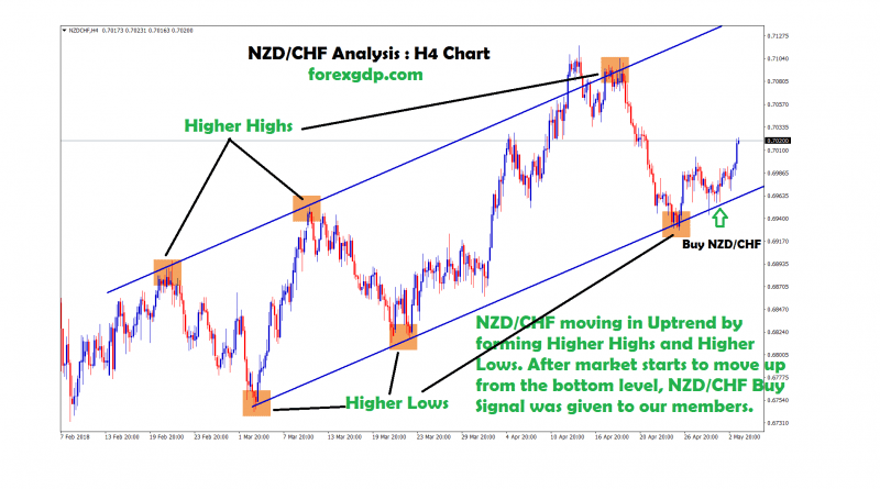 forex live buy/sell signals in nzd/chf