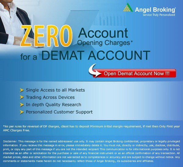 zero account opening charges