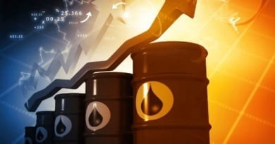 Crude oil rises 33% in a day. Brent oil made a historical gain record in a day.