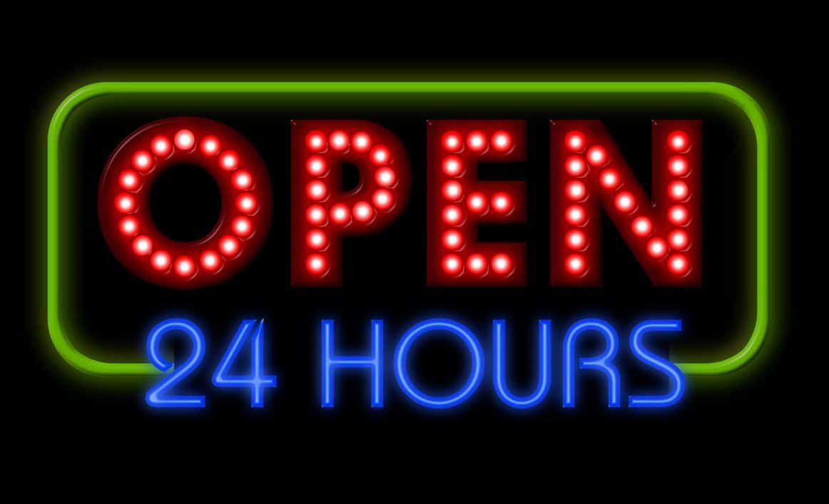 forex market open 24 hours time