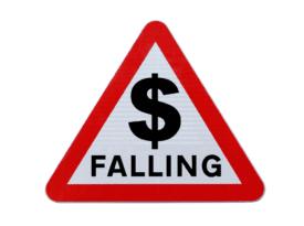 Warning US Dollar falling