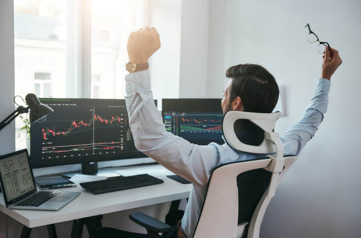 behind the success of forex trader