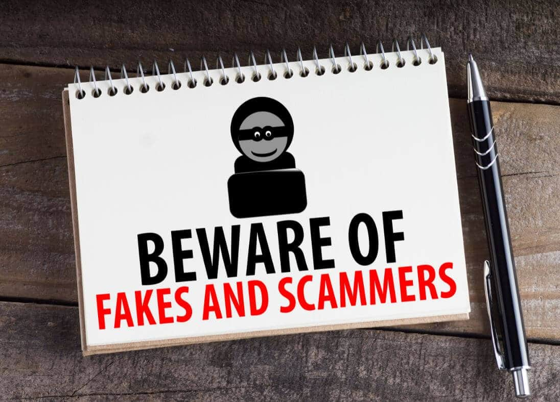 beware of fakes and scams in forex trading