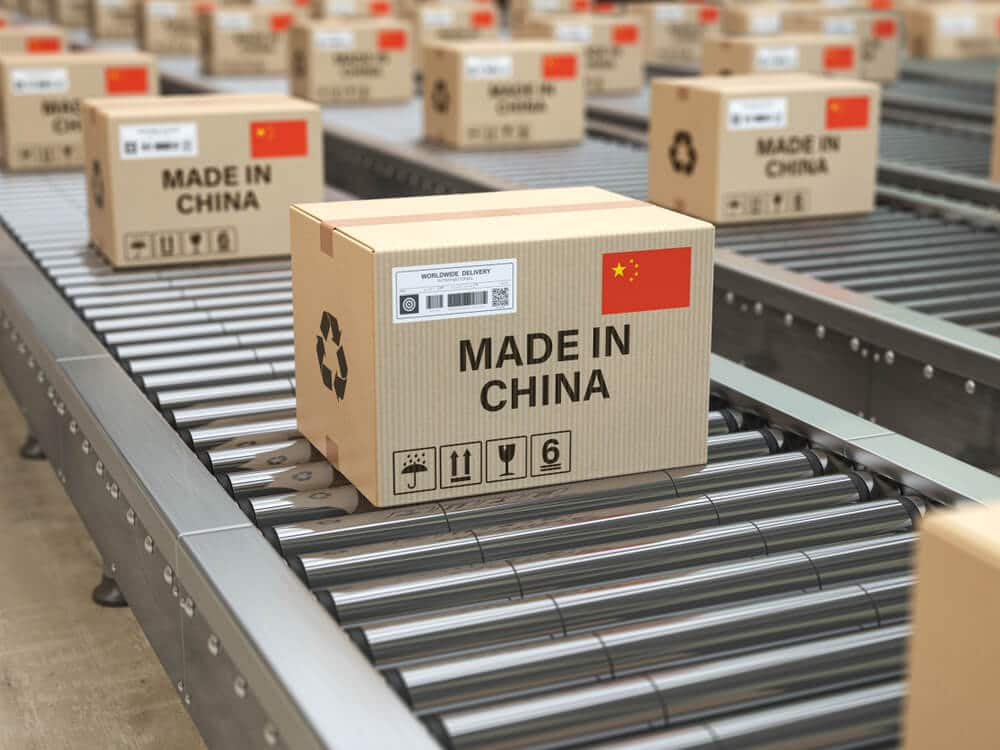 Made in China cardboard product