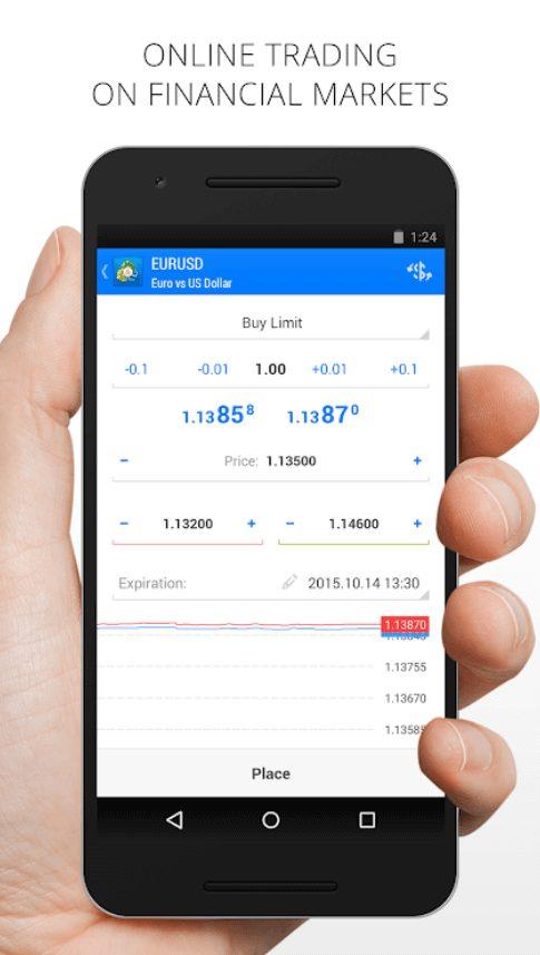 fast trade in metatrader trading platform software