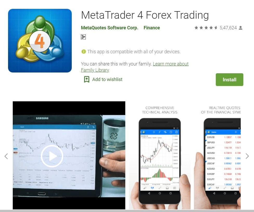 metatrader four software download