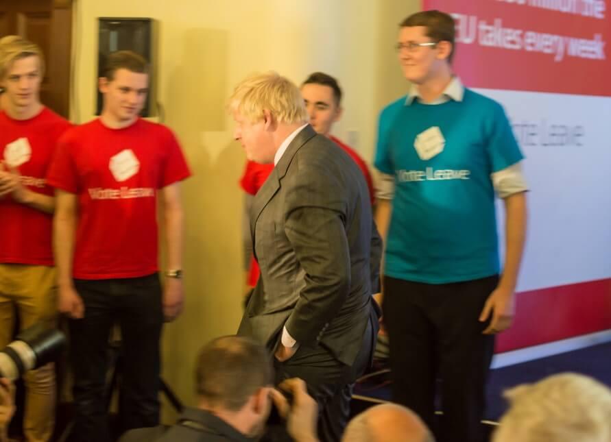 Boris walk away from brexit