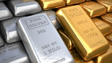 Silver and Gold bars 1kg