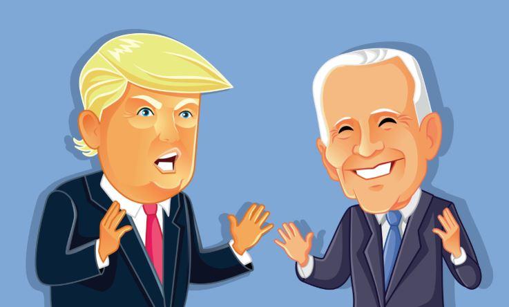 trump and baiden fiscal talks