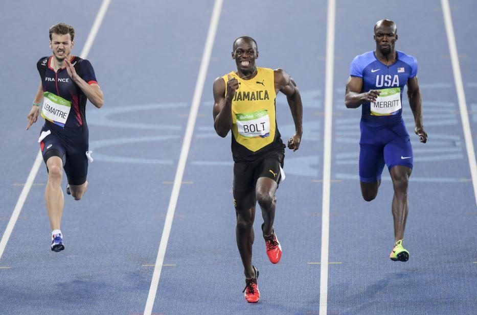 100 meter race world record usain bolt
