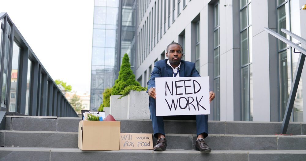 America African sittng jobless claim