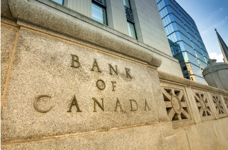 Bank of canada front letter view