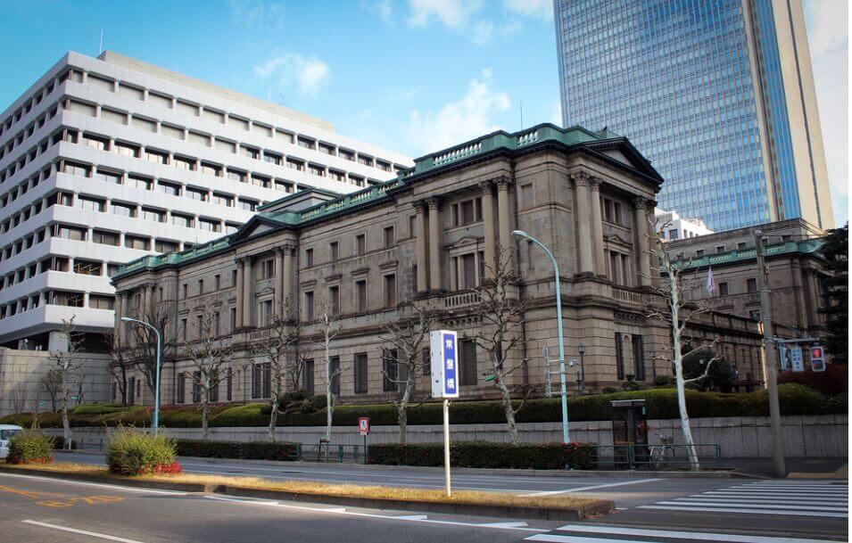 Bank of japan tokyo forex
