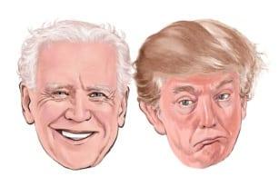 Biden and Trump 2020 u.s election