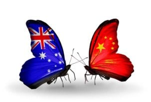 China Australia Economy butterfly