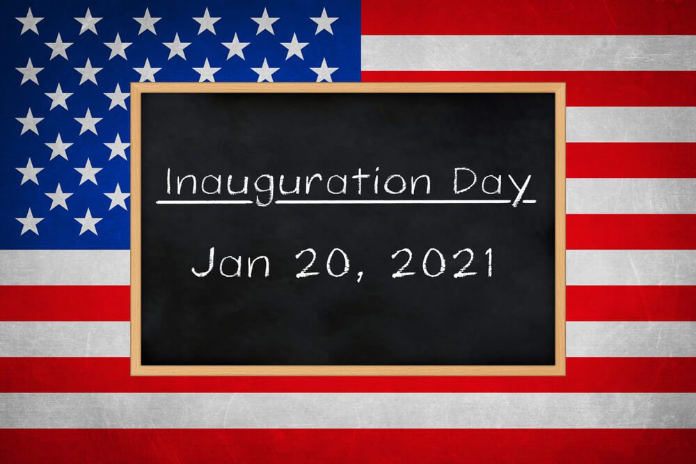 Inauguration day for the 46th president