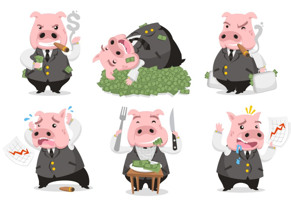 greedy Pig in forex trading