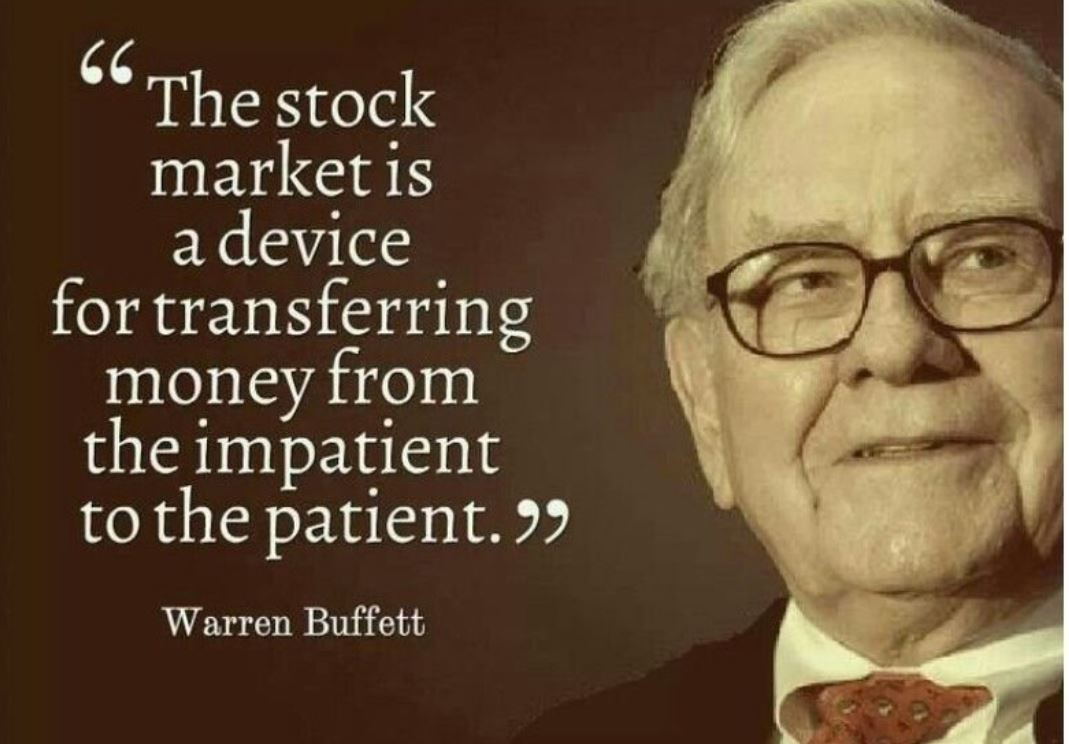 patience and impatience trader quotes in forex trading market