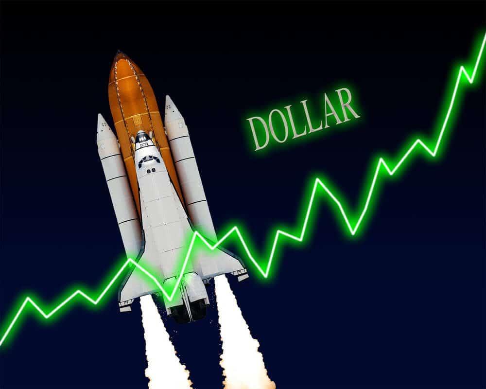 US Dollar raises up like rocket