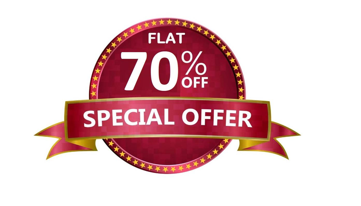 flat 70 offer