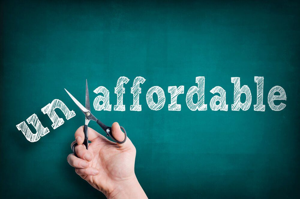 affordable money vs unaffordable in trading