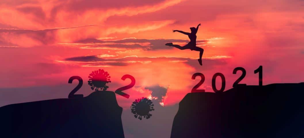 crossing corona 2020 to 2021 year