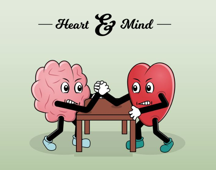 heart vs mind fight in forex trading