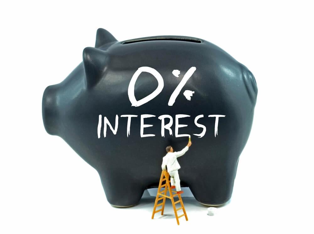 Zero percent interest on leverage