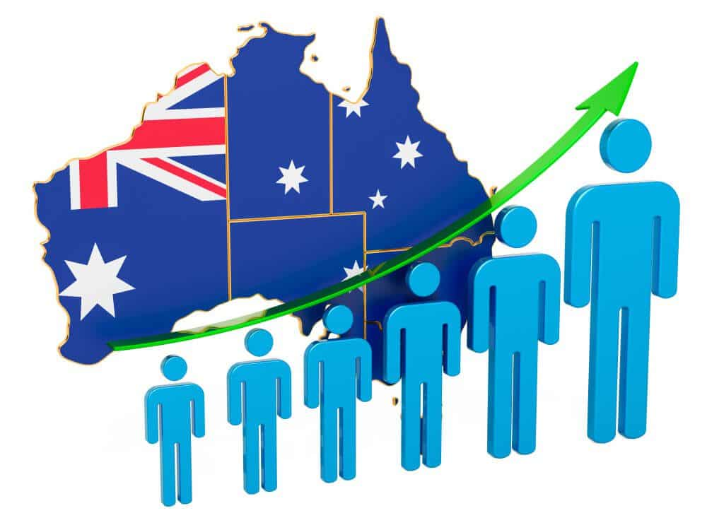 Australia Employment rate raise