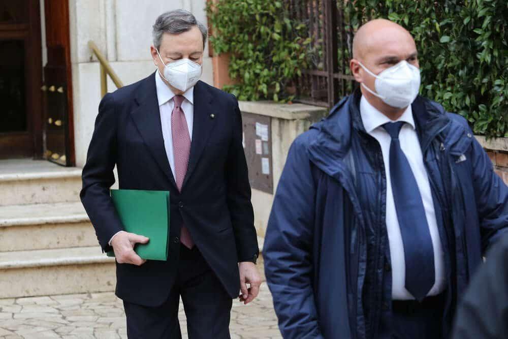 Mario draghi italian prime minister