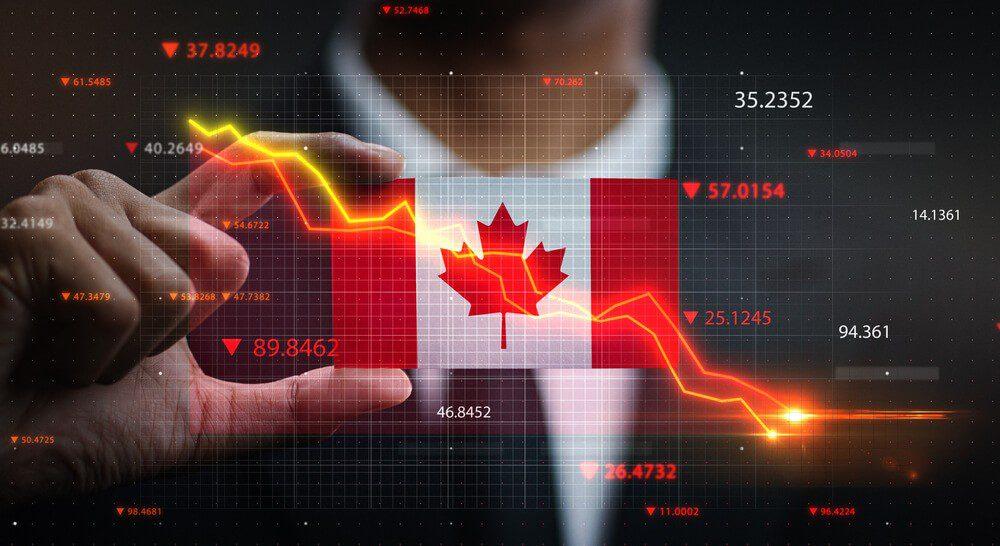 Canadian Dollar declined 1