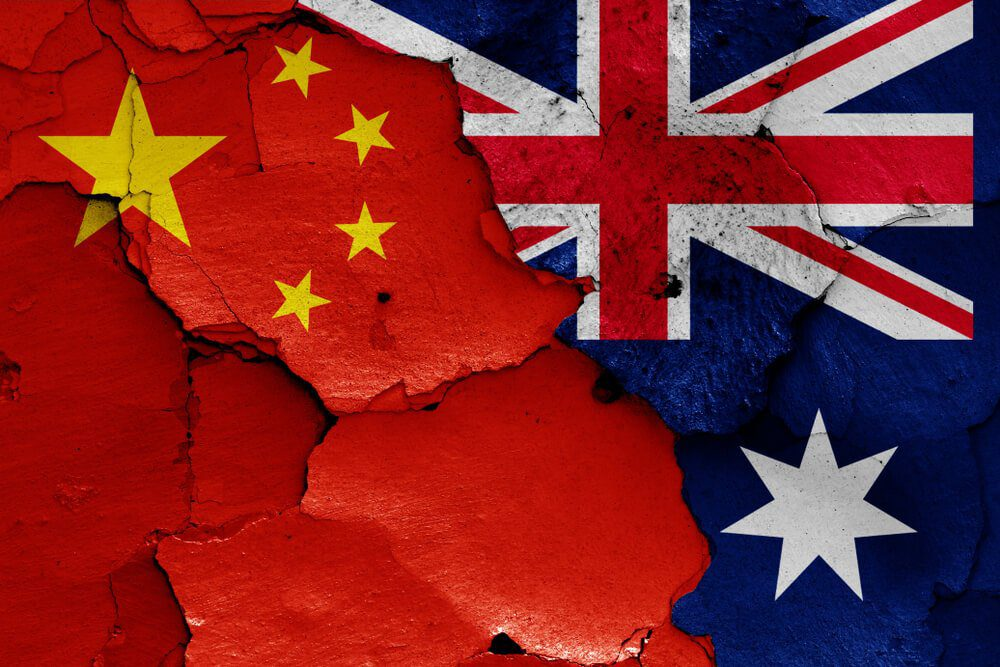 Chinese trade with Australia