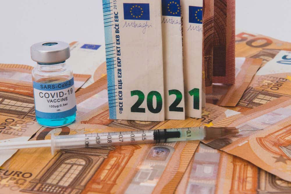 Due Euro vaccination picked up economy is raising