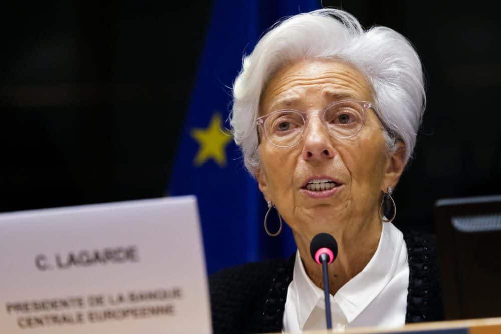 EU central bank president Lagarde
