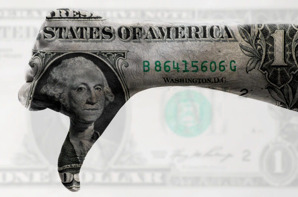 US Dollar seems lower as FED deliver