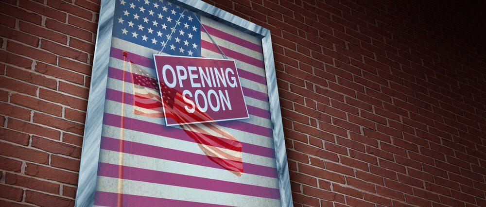 US lockdown Easing