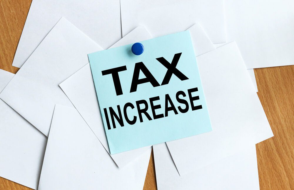 US tax increase