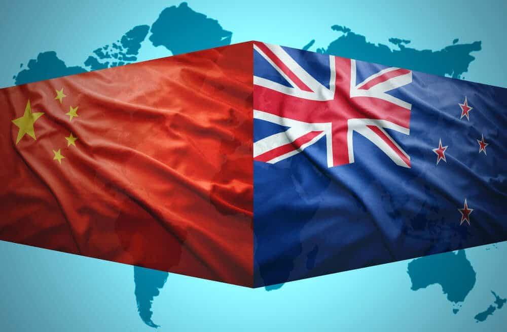 China forming a major trading hub for New Zealand Exports
