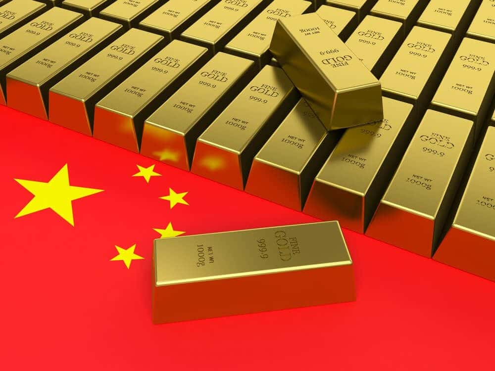 China imported 150 tons of Gold