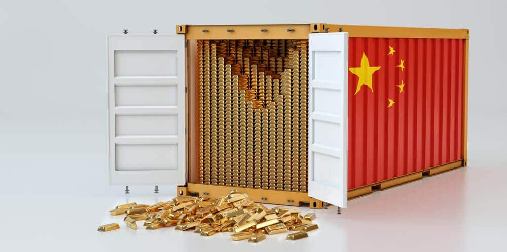 China is an alternative compensator for Gold importing