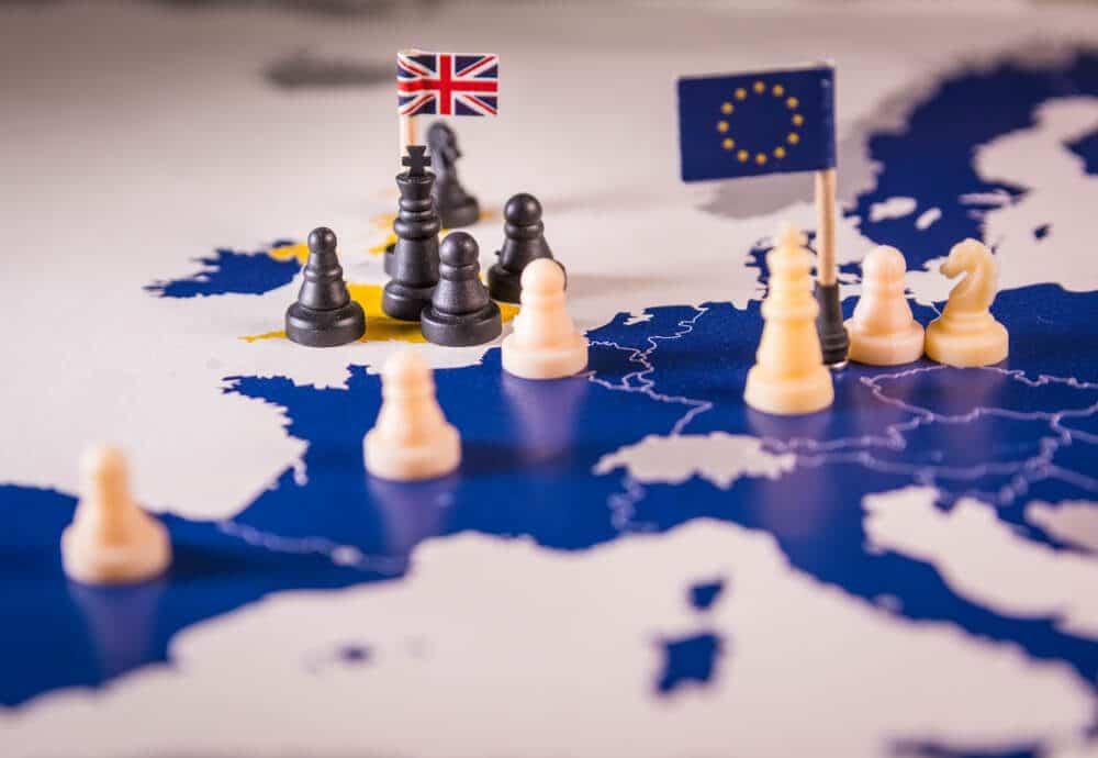 EU UK Brexit deal on Irish