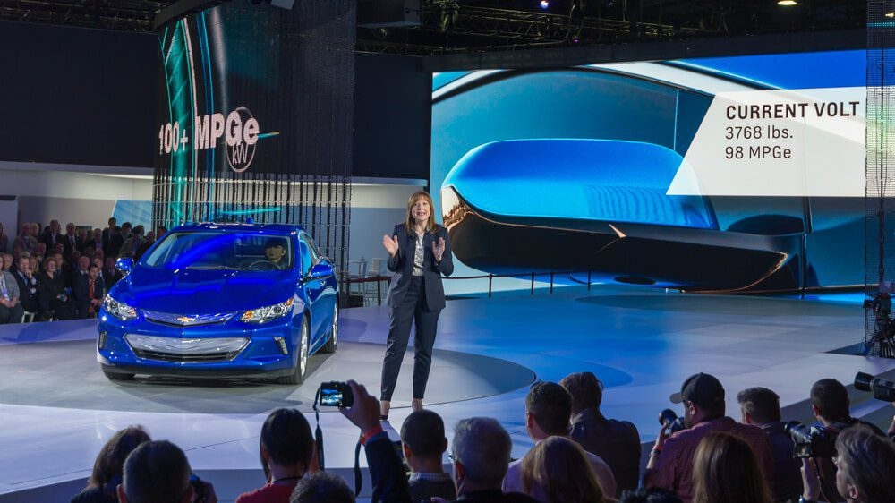 General motor and Co Chair and CEO Mary Barra