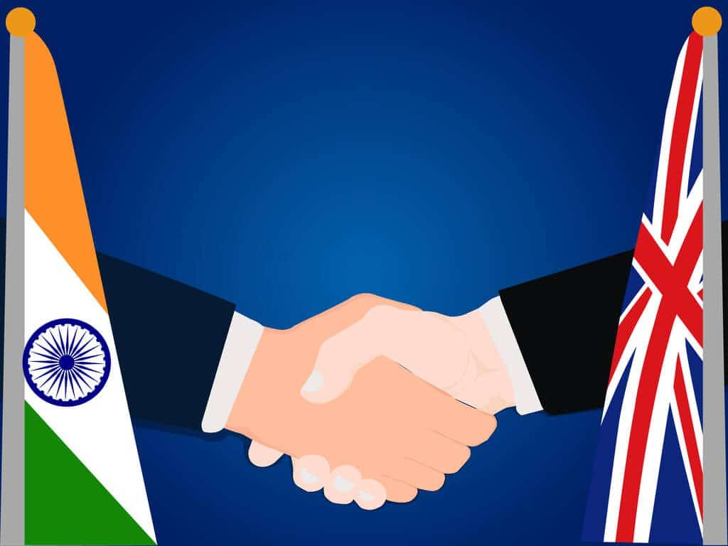 India and the UK trade