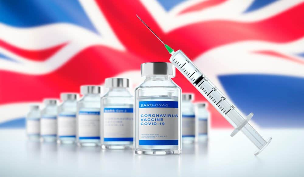 UK Government administered 56 million Vaccination
