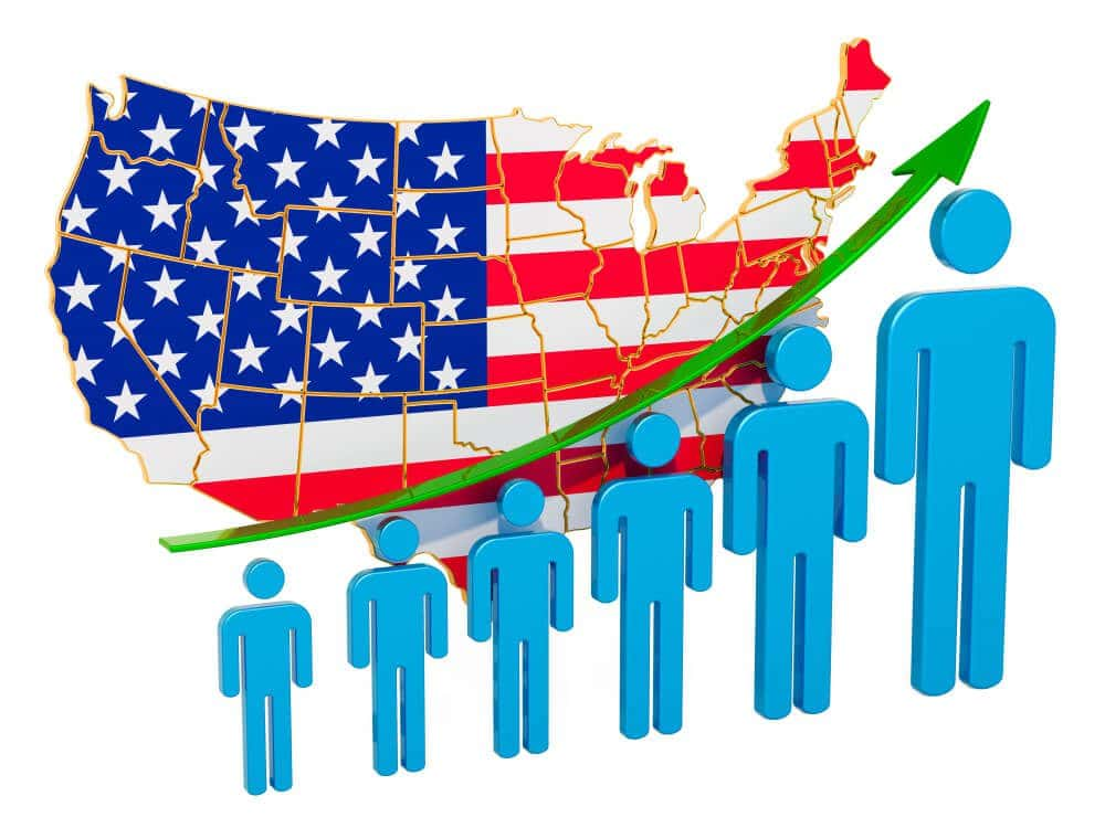US Employment rate increased